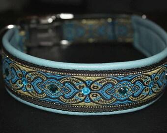 Oriental collar, dog collar, Winhundhalsband