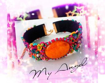 My Angel choker necklace