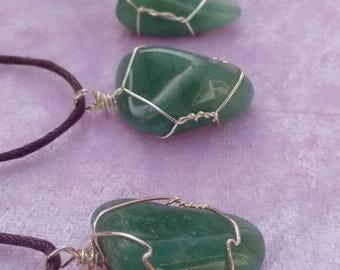 Green Aventurine Necklace.
