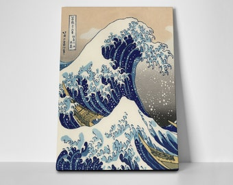 The Great Wave of Kanagawa Limited Edition 24x36 Poster | The Great Wave of Kanagawa Canvas