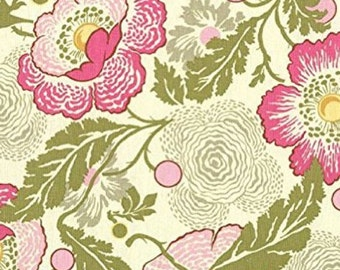 AB32 Fuchsia Fabric Amy Butler Midwest Modern - Fresh Poppies