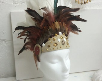 Candy Crown tribal headpiece