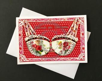 Friendship Card- Bra