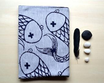 Merino Wool Baby Blanket - Cheeky fish