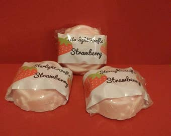 Strawberry with Shea butter soap