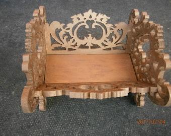 Fretwork ornamental basket unique gift