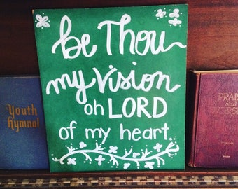 My Vision Green Chalkboard