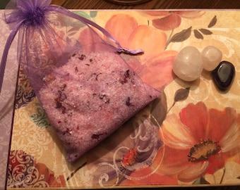 Rose Bath Soak - Ritual Bath - Detox Bath - Organic Bath Soak - Dead Sea Salt - Himalayan Salt - Rose Bath