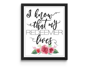 I know that my Reedmer Lives Print - Instant Download