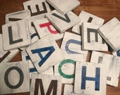 Handcrafted Wooden Sign - You choose the letter