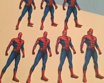 12 Spiderman Inspired Die Cuts