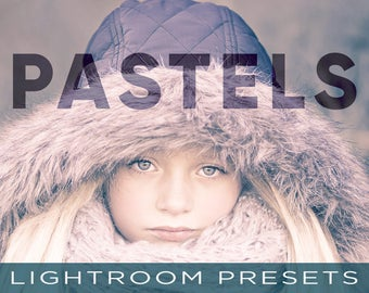 Pastel Lightroom Presets - 15 Professional Pastels Color Presets - Adobe Lightroom 4, 5, 6 and CC