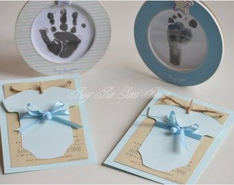 Baby Shower / It's a Boy Invitations / Baby Party