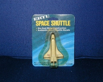 ERTL die cast Space Shuttle toy new old store stock USA space travel