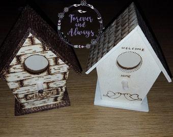 Birdhouse, Rustic Birdhouse, Custom Bird House, Garden Decor, Home Decor, Decorative Bird house, Handmade Birdhouse, Outdoor, Birds,