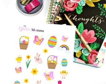 Easter | Deco | Erin Condren Life Planner Vertical