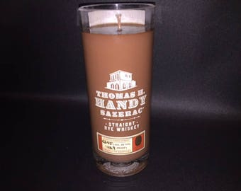 Thomas H Handy Sazerac Antique Collection by Buffalo Trace. Rye Whiskey Soy Candle. Made To Order !!!!!!!