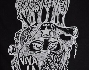 Joefur: RaveAid T-Shirt. Black w/ White Print.  (All profits to charity)