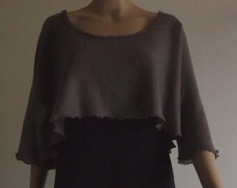 The extra-large short beautiful yarn Merino sweater Mole soft