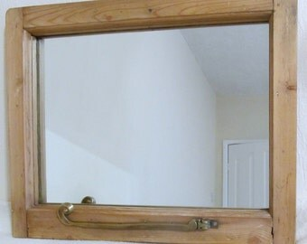 Reclaimed upcycled mirror