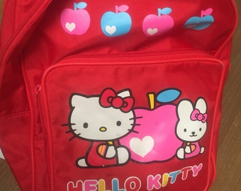 Hello kitty vintage backpack purse