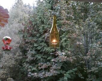 Beautiful Wine Bottle Votives