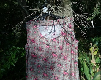Ladies dress//100%cotton//aboriginal facric