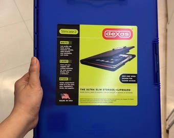 pre order - Dexas Slimcase 2 Storage Clipboard with Side Opening