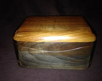 Jewelry Box - Black Walnut - Ancient Juniper