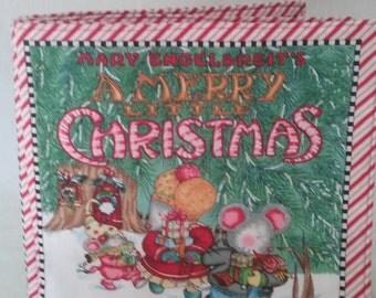 A Merry Little Christmas (cloth book)