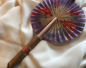 1920s Novelty Cigar Paper Fan from Japan