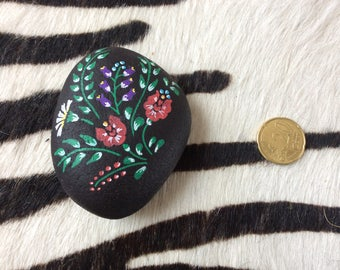 Decorative painted pebble or Clipboard