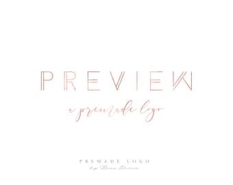 Preview for a Premade Logo