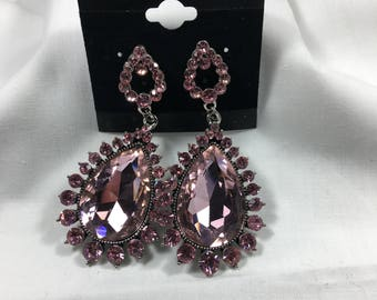 jewelry earrings necklaces rhinestone