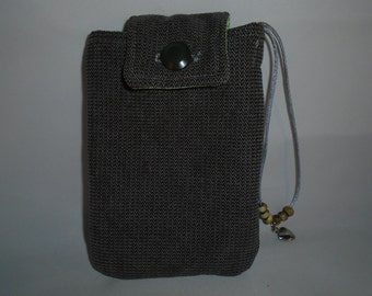 cell phone pouch, tech bag, small purse