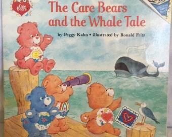 1992 Random House books The Care Bears and the Whale Tale.