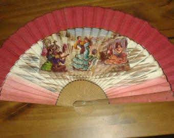 1930's Spanish Hand Fan