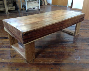 Reclaimed Cherry/Apple/Acacia Coffee Table