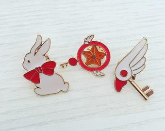 Cardaptor Sakura Pin Badge Set