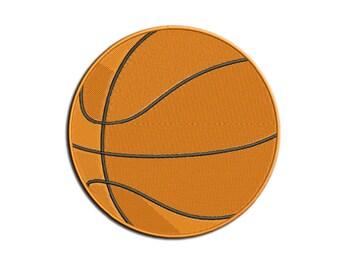 Basketball Embroidery design - Ball - Machine embroidery design - NushNusha shop