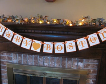 Personalized Baby Banner Boy or Girl