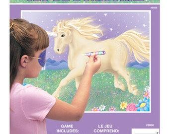 Pastel Unicorn Party Game/ Unicorn Party Game/ Pin the Horn on the Unicorn Game/ Unicorn Party Decor