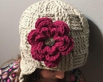 Crochet Basketweave Beanie Hat, Cozy, Woman's Fashion, Child, Teen, Women's Winter Hat, Men's, Boys, Checker, Woven