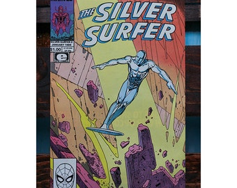 The Silver Surfer Number 2 1989