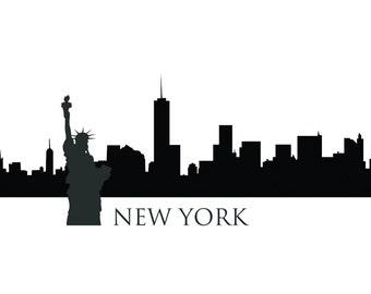 NEW YORK Skyline Printable