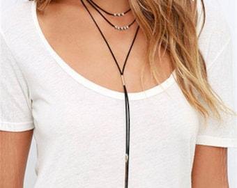 VIVI Antique Simplism Style Long Necklace