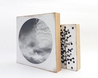 "KUSUMI ""Sky & clouds 04"" 15x15cm"