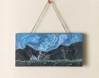 Starry Night - Sign