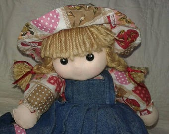 Waldorf Style Vintage Musical Motion Doll