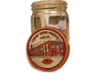 Rare Canada Motor Products Limited jar